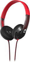 Skullcandy - Uprock Spaced Out On-Ear Headphones - Black/Red/Clear