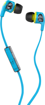 Skullcandy - Smokin' Buds 2 Earbud Headphones - Blue/Lime