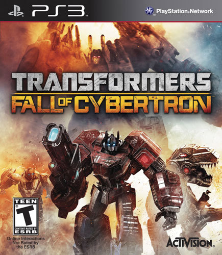 PS3-TRANSFORMERS: FALL...