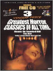 3 Vincent Price Greatest Horror Classics of All Time (DVD) (Black & White)