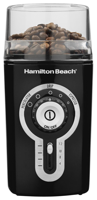 Hamilton Beach - Coffee Grinder - Black 4742503