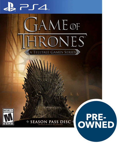 Game of Thrones - A Telltale Game Series - PRE-Owned - PlayStation 4