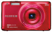 Fujifilm - FinePix JX660 16.0-Megapixel Digital Camera - Red