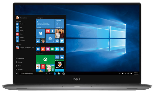 Dell - XPS 15.6 4K Ultra HD Touch-Screen Laptop - Intel Core i5 - 8GB Memory - 256GB Solid State Drive - Silver