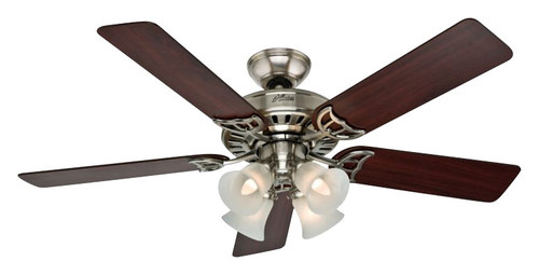 Hunter - Studio Series 52 Ceiling Fan - Brushed Nickel