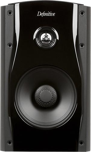"""Definitive Technology - StudioMonitor 55 6-1/2"""" Bookshelf Speaker (Each) - Black"""