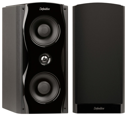 Definitive Technology - Studio Monitor 65 6 x 12 2-Way Bookshelf Speaker (Each) - Black