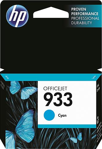 HP - 933 Ink Cartridge - Cyan