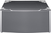 Lg - Laundry Pedestal With Storage Drawer - Graphite Steel