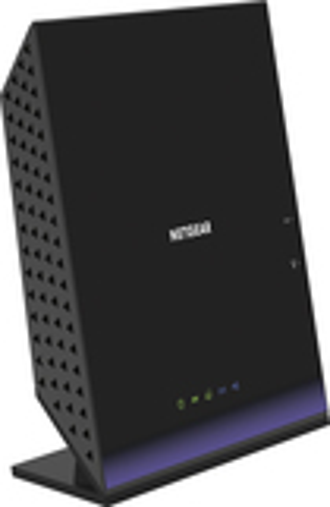 NETGEAR - AC1600 Wireless-AC Vdsl/Adsl Modem and Router - Black