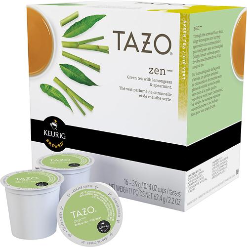 Keurig - Starbucks Tazo Zen Green Tea K-Cups (16-Pack) - Multi