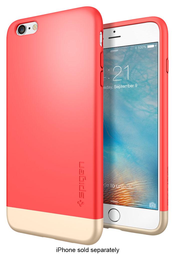 Spigen - Style Armor Case For Apple Iphone 6 Plus And 6s Plus - Italian Rose