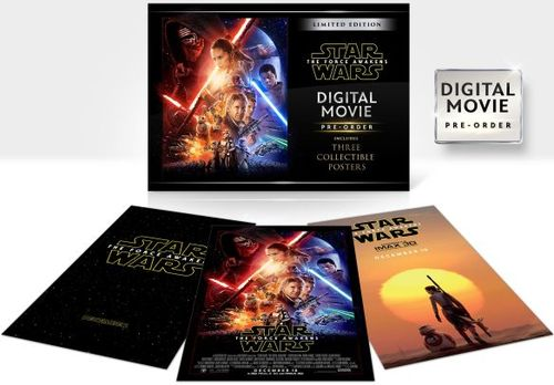 Star Wars: The Force Awakens [Digital HD Copy Only] (DVD)