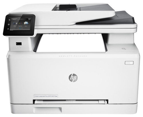 HP - Refurbished LaserJet Pro MFP M277DW Wireless Color All-in-One Printer - White