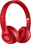 Beats By Dr. Dre - Geek Squad Certified Refurbished Solo 2 Headphones - Red