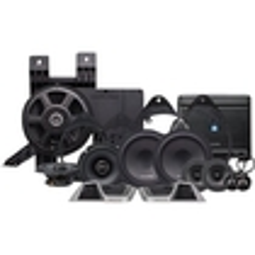 "Alpine - 8"" Car Speaker System - Black"