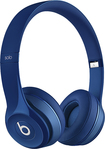Beats By Dr. Dre - Geek Squad Certified Refurbished Solo 2 Headphones - Blue