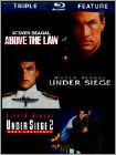 Above the Law/Under Siege/Under Siege 2 (Blu-ray Disc) (3 Disc) (Enhanced Widescreen for 16x9 TV) (Eng/Fre/Spa)