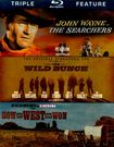 The Searchers/the Wild Bunch/how The West Was Won [3 Discs] [blu-ray] 4775546