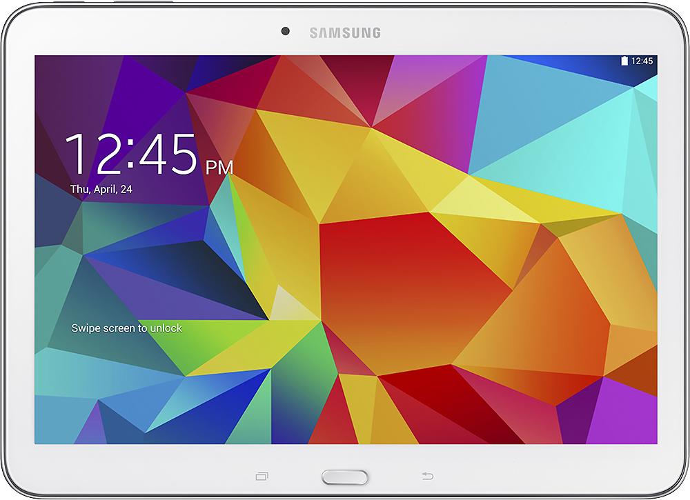 Samsung - Galaxy Tab 4 10.1 - 16GB - White
