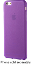 Dynex - Soft Shell Case For Apple Iphone 6s Plus - Purple