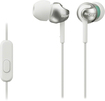 Sony - Step-Up EX Series Earbud Headphones - White