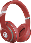 Beats By Dr. Dre - Geek Squad Certified Refurbished Beats Studio Over-the-ear Headphones - Red