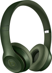 Beats By Dr. Dre - Geek Squad Certified Refurbished Beats Solo 2 On-ear Headphones - Hunter Green