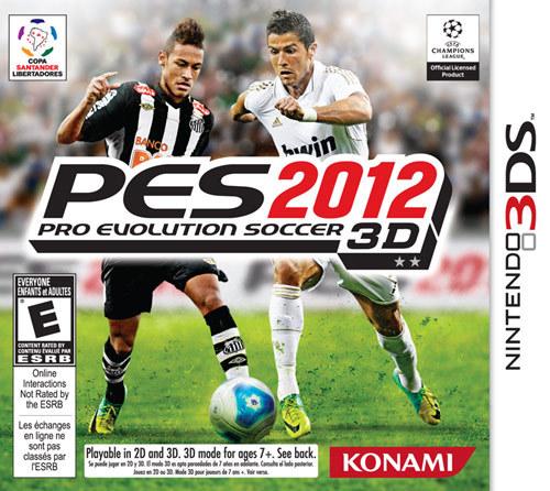 PES 2012: Pro Evolution Soccer 3D - Nintendo 3DS