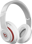 Beats By Dr. Dre - Geek Squad Certified Refurbished Beats Studio Over-the-ear Headphones - White
