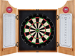 Trademark Global - Montreal Canadiens Solid Wood Dart Cabinet - Brown