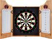 Trademark - Miami Heat Solid Pine Dart Cabinet Set