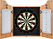 Trademark - NC State Solid Wood Dart Cabinet