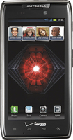 Motorola - DROID RAZR MAXX 4G LTE Cell Phone - Black (Verizon Wireless)