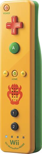 Nintendo - Wii Remote Plus for Nintendo Wii U - Bowser