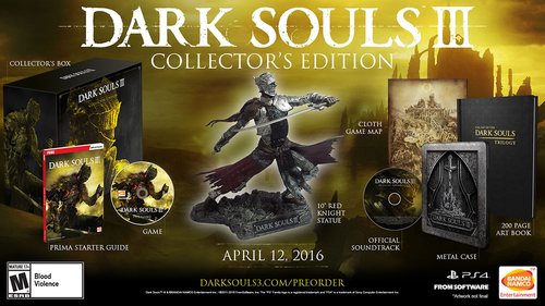 Dark Souls III: Collector's Edition - PlayStation 4