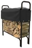 Panacea - 4' Sliding Log Rack Cover - Black 4796638