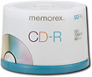 Memorex - CD Recordable Media - CD-R - 52x - 700 MB - 50 Pack Spindle