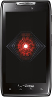 Motorola - DROID RAZR 4G Cell Phone with 16GB Memory - Black (Verizon Wireless)