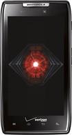 Motorola - DROID RAZR 4G Cell Phone with 16GB Memory - Black (Verizon Wireless)