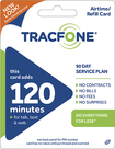 TRACFONE - 120-Minute Prepaid Wireless Airtime Card - Blue/Green