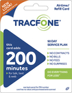 TRACFONE - 200-Minute Prepaid Wireless Airtime Card - Blue/Green