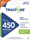 TRACFONE - 450-Minute Prepaid Wireless Airtime Card - Blue/Green