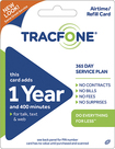 TRACFONE - 400-Minute Prepaid Wireless Airtime Card - Blue/Green