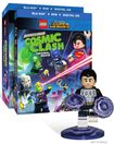Lego Dc Comics Super Heroes: Justice League - Cosmic Clash [with Figurine] [dvd/blu-ray] [2 Discs] 4802718