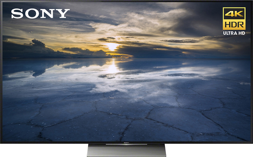 Sony - 55 Class (54.6 diag) - LED - 2160p - Smart - 3D - 4K Ultra HD TV - Black