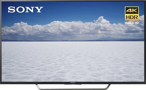 "Sony - 65"" Class (64.5"" Diag.) - LED - 2160p - Smart - 4K Ultra HD TV - Black"