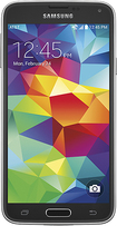 Samsung - Galaxy S 5 4G Cell Phone - Charcoal Black (AT&T)