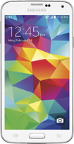 Samsung - Galaxy S 5 4G Cell Phone - Shimmery White (AT&T)