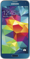 Samsung - Galaxy S 5 4G Cell Phone - Electric Blue (AT&T)